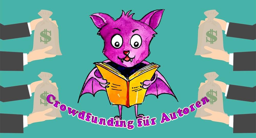 Titelbild: Crowdfunding für Autoren