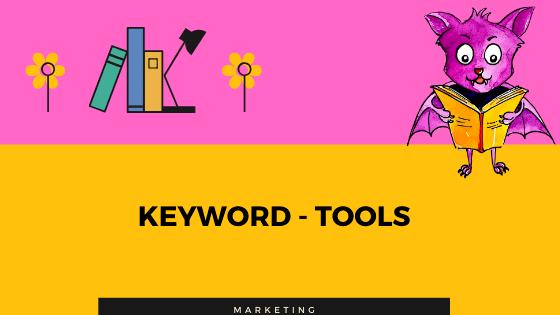 Keyword-Tools für KDP - No- und Low Content Bücher.