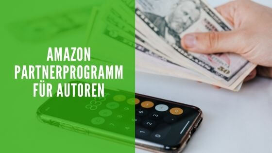 Amazon Partnerprogramm für Autoren.