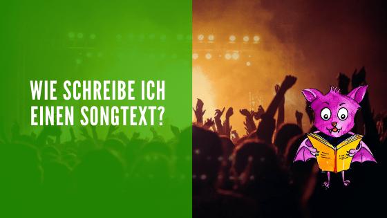 Wie schreibe ich einen Songtext?